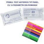 Test rapid antidrog | depistare droguri in urina tip panel cu 14 parametri Dr. Constantin, image 1